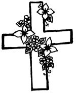 floral-cross