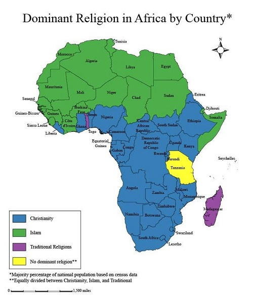 Dominant-Religions-in-Africa