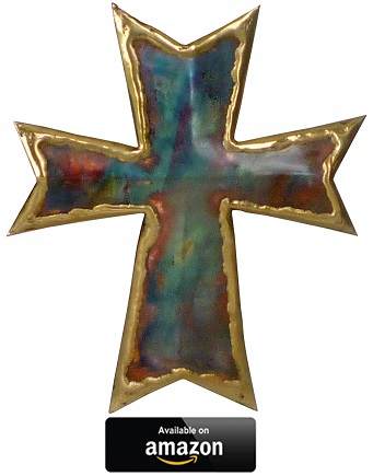 Copper-Wall-Cross-Cross