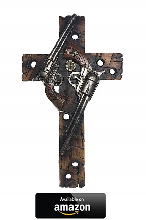 Double-Pistol-Wall-Cross