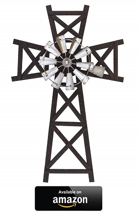 Farmhouse-Windmill-Wall-Cross