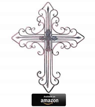 Kleanner-Antique-Wall-Mount-Layered-Cross