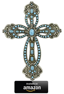 LL-Home-Cross-with-Turquoise-Silver-Tone