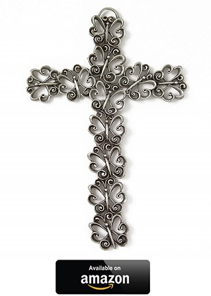 Pewter-Butterfly-Wall-Cross
