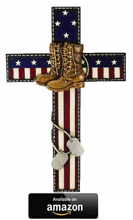 Polly-House-Honoring-Military-Soldier-wall-cross