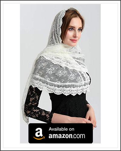 mantilla-scarf
